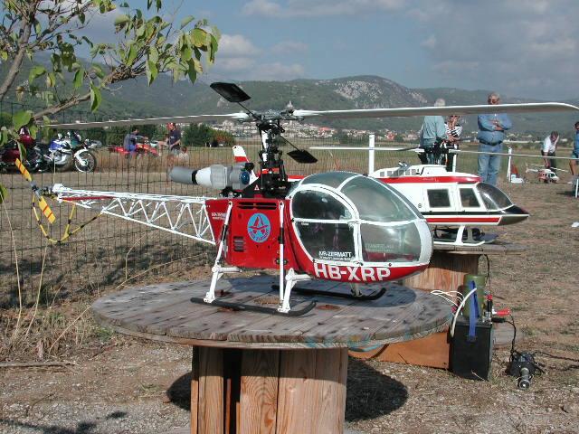 vario trainer AlouetteII-2